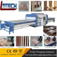 Buy cheap PVC modular kitchen designs vacuum membrane press machine from wholesalers