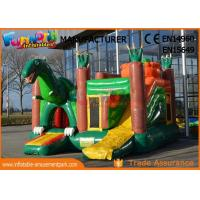 Buy cheap Dinosaur Commercial Inflatable Bounce House / Inflatable Jumpers from wholesalers