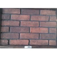 Buy cheap Low water absorption artificial brick for outdoor wall thickness 11,15mm from wholesalers