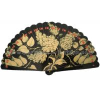 Buy cheap Digital Printing Wooden Hand Held Fans , Elegant Outdoor Wedding Fans from Wholesalers