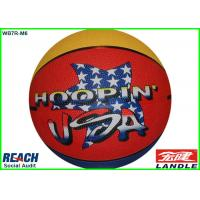 Buy cheap Red Yellow USA Official Women Size 5 Basketballs for Promotional from wholesalers