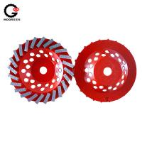 Buy cheap Cold press aluminum diamond cup wheel from wholesalers