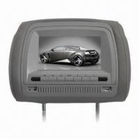 Buy cheap 7-inch Car Headrest DVD Player, Built-in Sony Loader/Sony Lens/SD/USB Slot from wholesalers