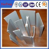 China OEM 6063 industry aluminium product channel price, aluminium industry extrusion profiles on sale