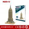 Buy cheap Intelligent DIY Building Paper 3D Puzzle Famous Building from wholesalers