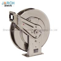 Buy cheap 304 Stainless Steel Retractable Hose Reel , Extension Cable Reel With 5 Million Life Time from wholesalers