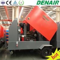 Buy cheap 185 cfm 7bar Tow Trailer Diesel Power Rotary Screw Tpe Air Compressor from wholesalers