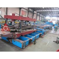 Buy cheap Automatic K Span Roll Forming Machine , Arched Roof Building Forming Line from wholesalers