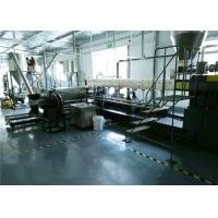 China Two Stage Extrusion Line For PVC Compounding , PVC Granules Making Machine on sale