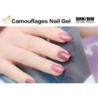 Buy cheap Private Label Camouflage Nail Gel Salon / Professional Builder Gel Chemical Free from wholesalers