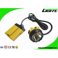 Buy cheap Corded Underground Mining Cap Lights 25000lux With 10.4Ah SAMSUNG Battery from wholesalers