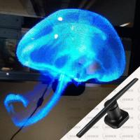 WIIKK Hologram Advertising Display , WIFI Model Hologram Projection Equipment