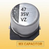 Buy cheap 105°C 16V 47uF SMD Electrolytic Capacitor,Chip Capacitor from wholesalers