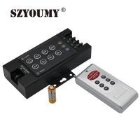 Buy cheap 8 Key RGB LED Light Controller with RF Wireless Remote Controller Dimmer 12-24V from wholesalers