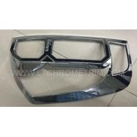 Buy cheap ABS Chrome Tail Light Cover / Tail Lamp Trim For Navara 2015 from wholesalers