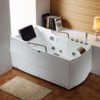 Buy cheap Pure Acrylic Whirlpool/Jacuzzi/Massage Bathtub/Luxury Bath/Bathtub with 110 to 220V Voltage from wholesalers