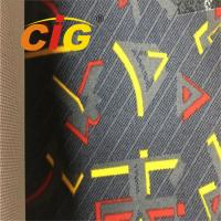 Buy cheap Customized Durable 100 Polyester Upholstery Fabric For Car Seat / Sofa Decoration product