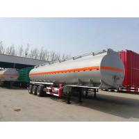 Buy cheap hot sale 3 axles oil tanker trailer for fuel haulage tanker semi trailer for sale from wholesalers