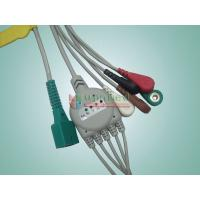 Buy cheap MEK One piece 5-lead ECG Cable with leadwires,snap from wholesalers