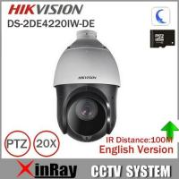 Buy cheap Hikvision PTZ IP Camera DS-2DE4220IW-DE With IR Range 100m 4.7-94mm Lens 2mp Speed Dome Camera Support Onvif CCTV Camera from wholesalers