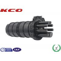 Buy cheap Fo Splice Closure Fiber Optic 1 In 7 Out Cable Ports Pipeline Dome Type from wholesalers