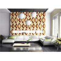 Buy cheap Three Dimensional Modern Geometric Pattern Wallpaper American Style For Living Room product