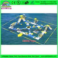 Buy cheap Commercial Water Bicycles For Sale Obstacle Courses Durable Inflatable Water Bike For Amusement Park from wholesalers