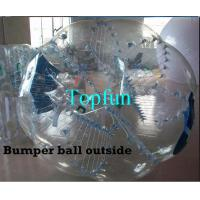 Buy cheap Outdoor Sports Inflatable Body Bumper Ball 1.00mm PVC Zorb Bumper Ball from wholesalers
