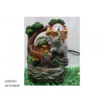 Buy cheap Polyresin waterfall fountain with elephant with ball from wholesalers