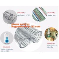Buy cheap Transparent PVC Spiral Steel Wire Reinforced Pipe Floating Dredge Hose from wholesalers