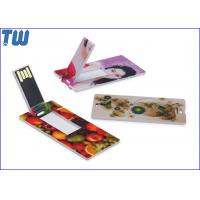 Buy cheap Promotion Slim Card USB Flashdrives High Quality Best Service from wholesalers