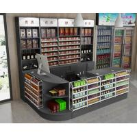 Buy cheap Customized Floor Standing Shop Display Shelving Metal Wine Racks For Retail Store from wholesalers