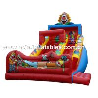 Buy cheap Inflatable Joker Slide For Children Birthday Party Rental Games from wholesalers
