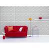 Buy cheap Fiberglass 3D Wall Panels TV Background Wallpaper Foam Sandwich Panels for Office from wholesalers