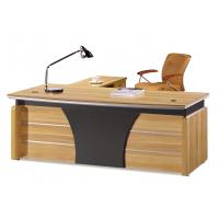 Buy cheap 1.8m Length Contemporary Office Desk Side Return Type Office Furniture product