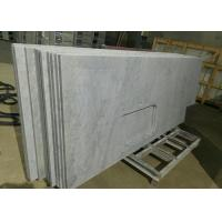 Buy cheap Carrara White Marble Stone Kitchen Countertops Sink Hole For Construction from wholesalers