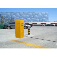Buy cheap Yellow / White 80W Automatic Boom Barrier Gate For Parking / Traffic Access Control from wholesalers