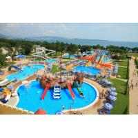 Buy cheap Small Interactive Family Water Playground Equipment Kids Swimming Pool Water Slide product