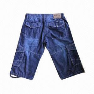 China Denim Men's Short Jeans, Fashionable Design on sale