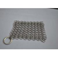 Buy cheap Polished 316L Ring Wire Stainless Steel Chainmail Scrubber For Food from wholesalers