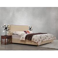 Buy cheap American design Good quality Gery Fabric Upholstered Headboard Queen Bed Leisure Furniture for Apartment Bedroom set from wholesalers