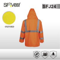Buy cheap Customized Color high visibility jackets waterproof safety parka with detachable from wholesalers