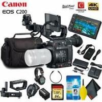 Buy cheap Cheap Canon EOS C200 EF Cinema Camera & 24-105mm Lens With BP-A60 Battery STARTER KIT from wholesalers
