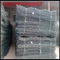 Buy cheap Rock basket wire mesh / gabion stone cage for Bank of river ( manufacturer+trade company ) from wholesalers