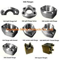Buy cheap SAE flanges to standard ISO 6162-1/2, SAE J518C, for hydraulic pipe connection from wholesalers