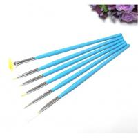 Buy cheap Nail Art Brush/Acrylic Kolinsky Nylon Brush,Nail gel brush/ 6pcs Nail Brush Pen Set from wholesalers