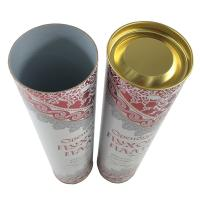 Buy cheap Gloss Surface Custom Printed Paper Tubes Gift Cardboard Mailing Tube from wholesalers