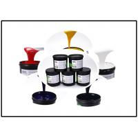 Multi - Color UV Silk Screen Ink , Smooth UV Screen Printing Ink For Plastic