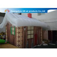 Buy cheap Inflatable Christmas Decoration House Inflatable Tent House / Snow House product