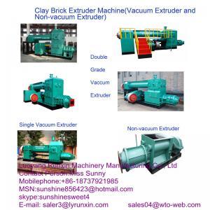 China JK40 automatic brick making machine(brick vacuum extruder) on sale